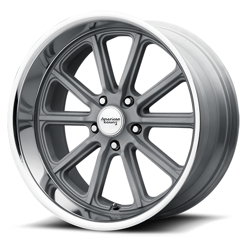 VN507 Rodder Silver with diamond cut lip (price shown per wheel)